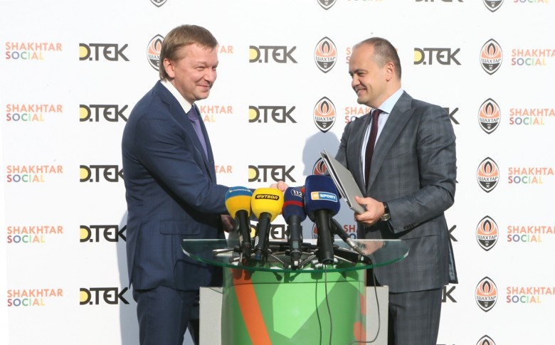 DTEK and FC Shakhtar organise free football lessons for children