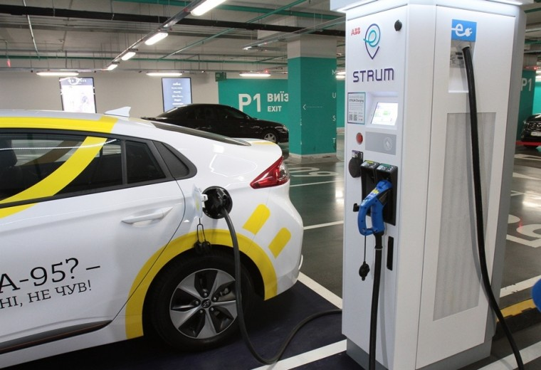 DTEK launches a network of high-speed electric vehicle charging stations - STRUM