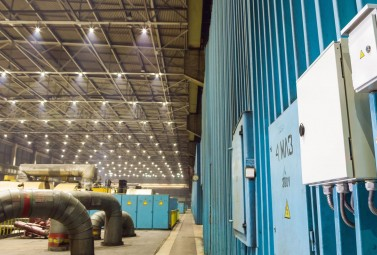 Electric Lighting Efficiency Increased by 89% at DTEK Zaporizka TPP
