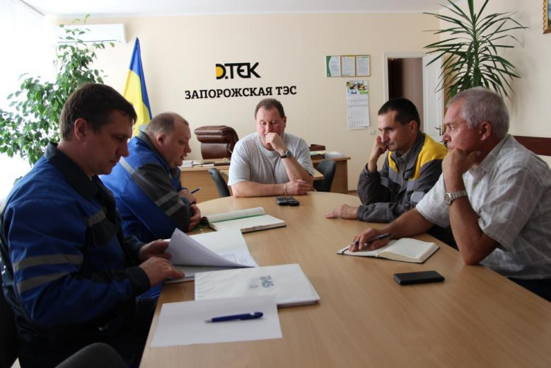 DTEK Zaporizka TPP Is Planning to Save Up to 30% of Energy Resources